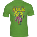 Hulk The Incredible VintageLook Marvel Shirt