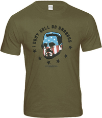 THE BIG LEBOWSKI Herren T-Shirt I DON'T ROLL THE SHABBAS