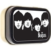 THE BEATLES kleine Blechdose mit Schanier FACES