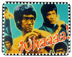 BRUCE LEE Karate Retro Movie MOUSEPAD