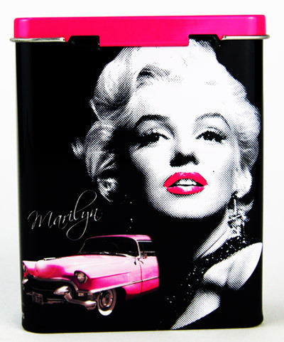 marilyn monroe 70er retro zigarettendose pink cadillac dein retro onlineshop. Black Bedroom Furniture Sets. Home Design Ideas