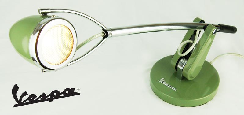 vespa lampe schreibtischlampe 50er 60er retro lamp vintage. Black Bedroom Furniture Sets. Home Design Ideas