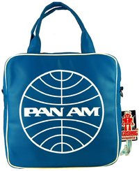 LOGOSH!RT Plattentasche Retro Tasche Record Bag PAN AM