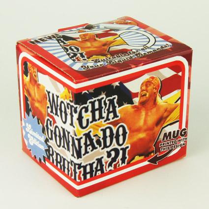 hulk hogan wrestling kult mug tasse kaffetasse 80er retro