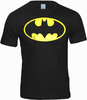 LOGOSH!RT Retro Comic Herren T-Shirt BATMAN LOGO