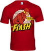 FLASH DC Comics Herren T-Shirt THE FASTEST MAN ALIVE