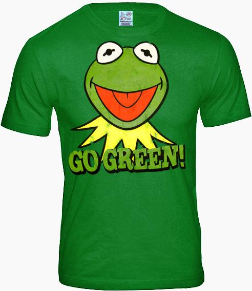 c1f9d99a5435b7 Die Muppet Show Comic Herren T-Shirt KERMIT GO GREEN bestellen