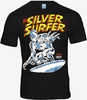 MARVEL Superhelden Comic Herren T-Shirt - SILVER SURFER