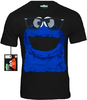 SESAME STREET Krümelmonster Cookie Monster Herren T-Shirt