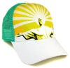 COASTAL Trucker Cap Surfer Basecap PRAYING JESUS Weiß