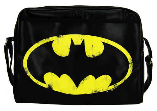 LOGOSH!RT Retro Comic Tasche CITY BAG - BATMAN LOGO