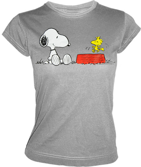 peanuts tv comic serie damen t shirt snoopy woodstock. Black Bedroom Furniture Sets. Home Design Ideas