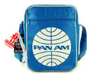 LOGOSH!RT Retro Tasche PAN AM CARBIN BAG MEDIUM Türkis