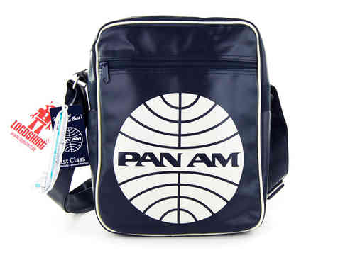 LOGOSH!RT Retro Tasche PAN AM CARBIN BAG SMALL Navy