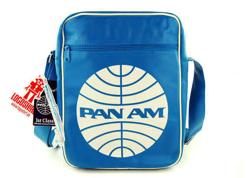 LOGOSH!RT Retro Tasche PAN AM CARBIN BAG SMALL Türkis