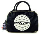 LOGOSH!RT Retro Tasche Travel Bag PAN AM Navy