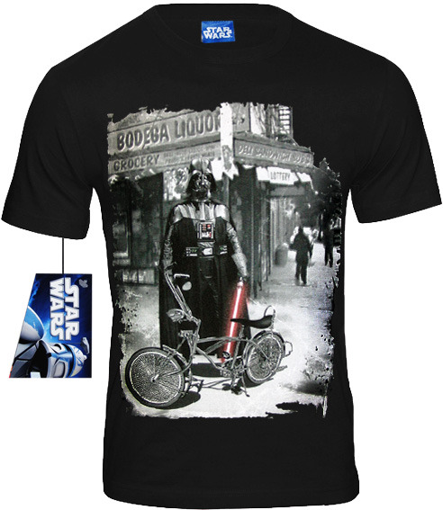 star wars retro movie herren t shirt darth wader lowrider. Black Bedroom Furniture Sets. Home Design Ideas