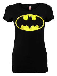 LOGOSH!RT DC Comics Damen Shirt BATMAN LOGO New Girl