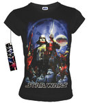 STAR WARS Retro Movie Damen T-Shirt THE EMPIRE