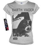 STAR WARS Retro Damen T-Shirt DARTH VADER PORTRAIT