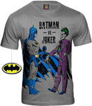 BATMAN Retro Comic Herren Shirt BATMAN VS JOKER