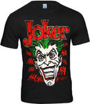 LOGOSH!RT Batman Retro Herren T-Shirt JOKER HA HA HA