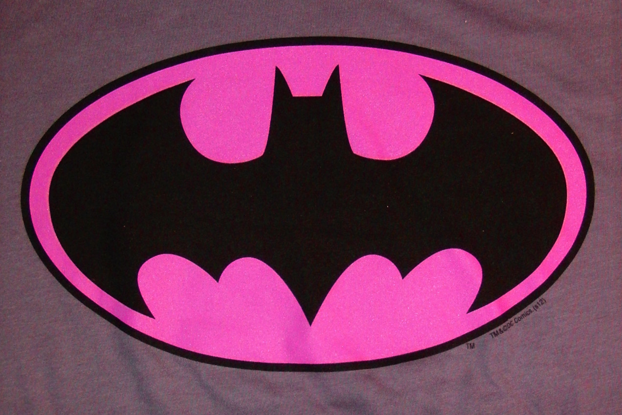 static pink batman - photo #28