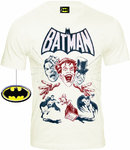 Original BATMAN Comic Herren T-Shirt VILLAINS COVER