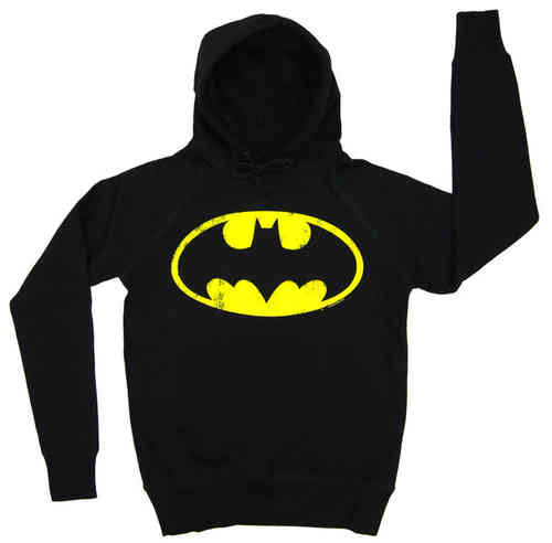 LOGOSH!RT Retro Herren Hoody BATMAN