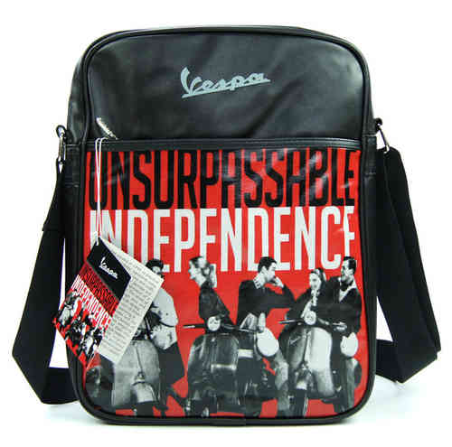VESPA Tasche Flight Bag INDEPENDENCE Schwarz