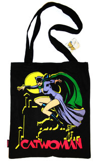 CATWOMAN Tasche Canvas Beutel TOTE BAG
