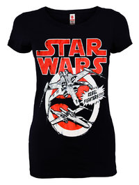 LOGOSH!RT Star Wars Damen T-Shirt REBEL FIGHTERS