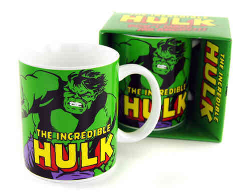 The Incredible Hulk Retro Marvel Comics Tasse
