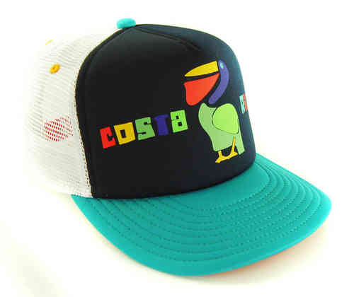 COASTAL 80er Retro Trucker Mesh Cap SURFER COSTA RICA