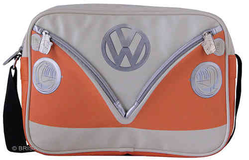 Original VW T1 Bulli Retro Tasche Front Orange