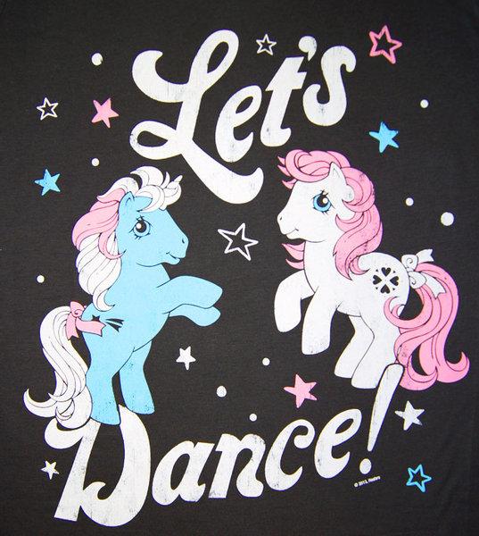 my little pony let s dance damen t shirt logoshirt grey. Black Bedroom Furniture Sets. Home Design Ideas