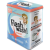 50er Retro Flash wash! Blechdose Vorratsdose L