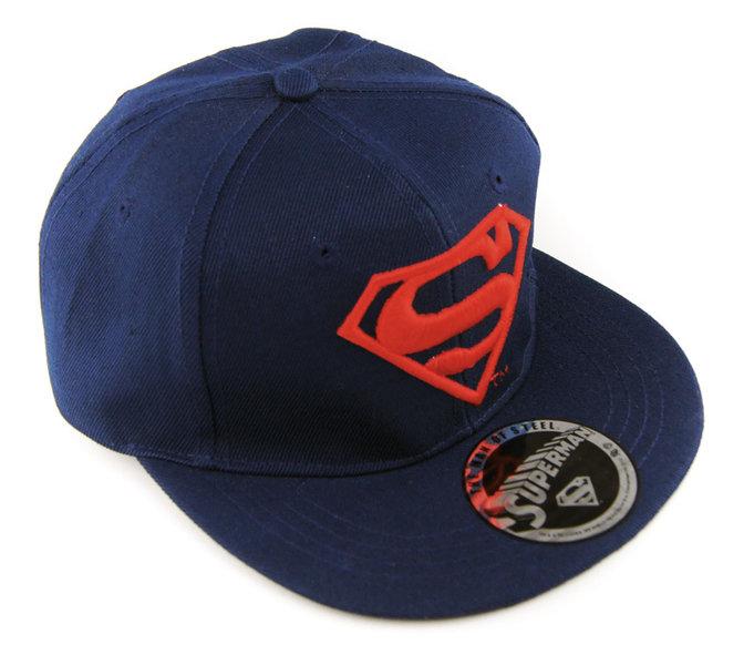 Flat Cap Snapback Basecap SUPERMAN LOGO navy kaufen 6012188328