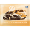 Original VW T1 Bulli & Beetle Käfer Blechschild 30x40 cm