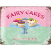 Fairy Cakes Fresh every Day Küchen Blechschild 30x40cm