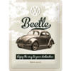 Original VW Beetle Käfer Blechschild Think Small 40x30cm