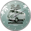 Retro VW Bulli T1 T2 Bus Think Tall Wanduhr Küchenuhr