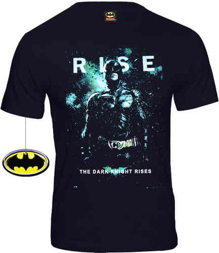 Original BATMAN Herren T-Shirt THE DARK KNIGHT RISES CODI