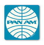 Retro Airline PAN AM Logo Untersetzer Coaster
