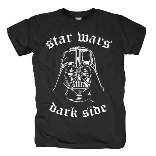 Star Wars Herren T-Shirt Darth Vader DARK SIDE
