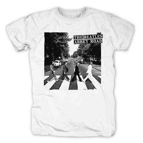 Original The BEATLES Herren T-Shirt ABBEY ROAD