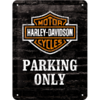 Original Harley Davidson PARKING ONLY Blechschild 15x20 cm