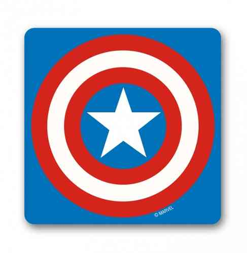 Marvel Comics Retro Untersetzer CAPTAIN AMERICA LOGO