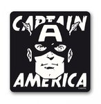 Retro Marvel CAPTAIN AMERICA FACE Untersetzer Coaster