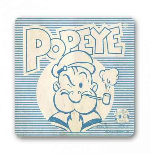Original Popeye SAILORMAN Retro Untersetzer Coaster